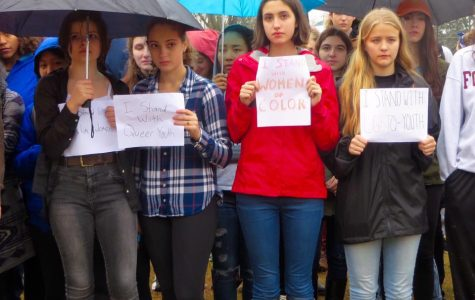 A (Mostly) Silent Protest Unifies JJHS Students Against Bullying