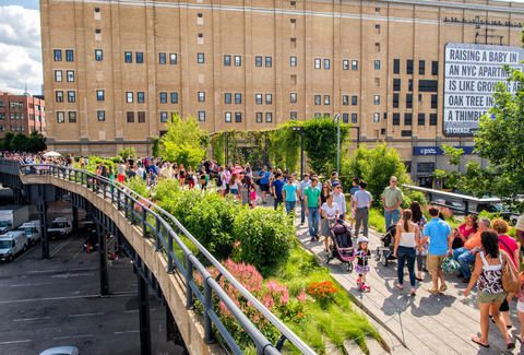 The High Line and Chelsea Market Field Trip