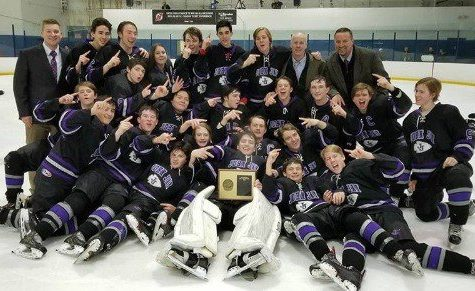 Ice Hockey Wins Back to Back Section 1 Crowns